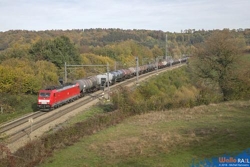 186 330 DB Cargo . E 47068 . Gemmenich . 03.11.18.