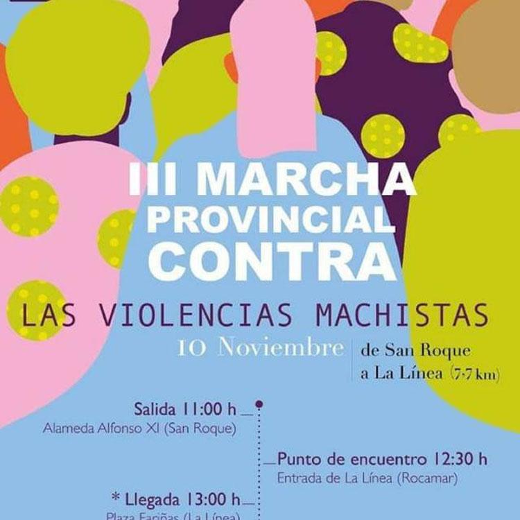 Mañana III Marcha Provincial contra las Violencias Machistas