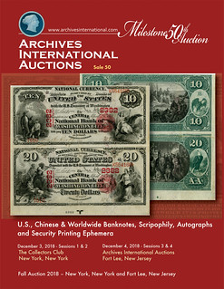 Archives International Sale 50 cover front