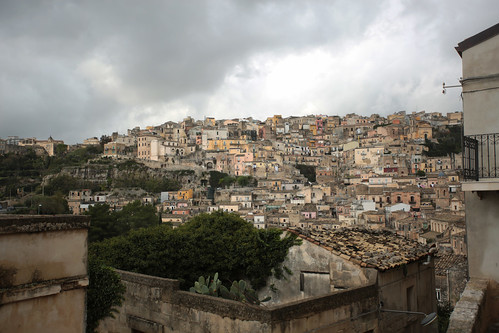 Ibla: vista su Ragusa