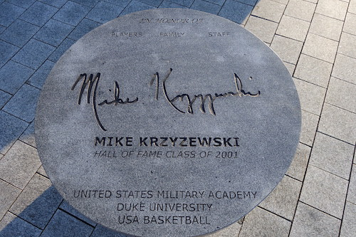 Coach K. From Nothing But Net: The Naismith Basketball Memorial Hall of Fame Is a Sweet Three-Pointer