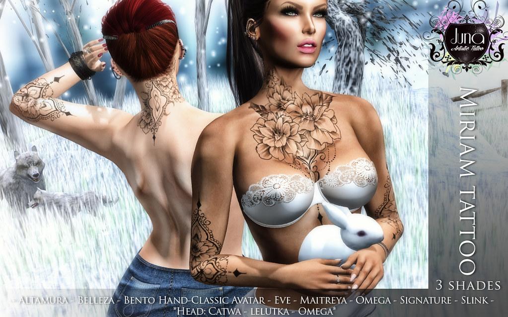 Miriam tattoo