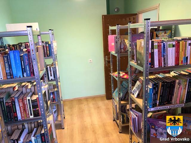 Otvorena knjižnična stanica Severin na Kupi, 23.11.2018. godine