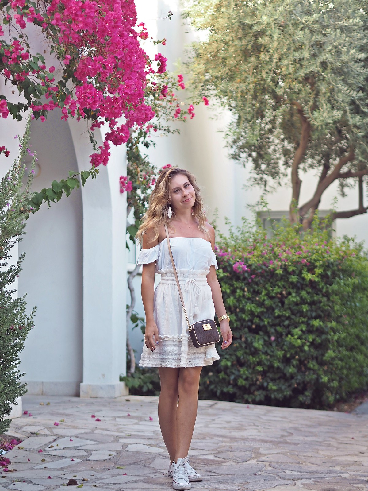 summer outfit ideas all white