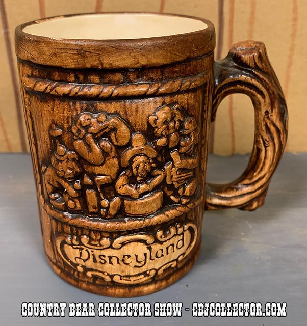 Vintage Disneyland Country Bear Jamboree Mug - Country Bear Collector Show #186