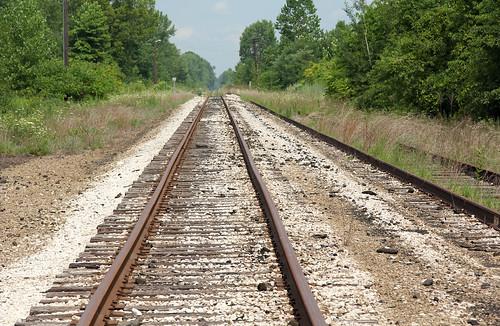 csx csxnewtonfallsbranch tracks railroadtracks deforestjunction