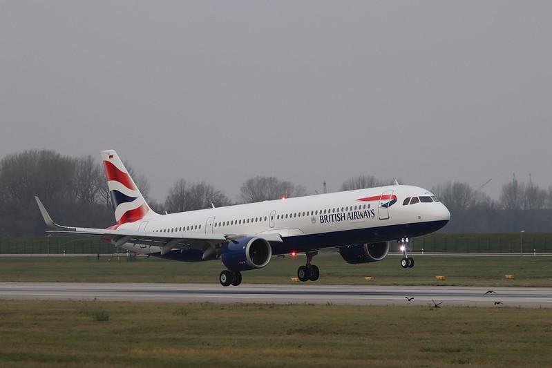 A321NX British Airways G-NEOR
