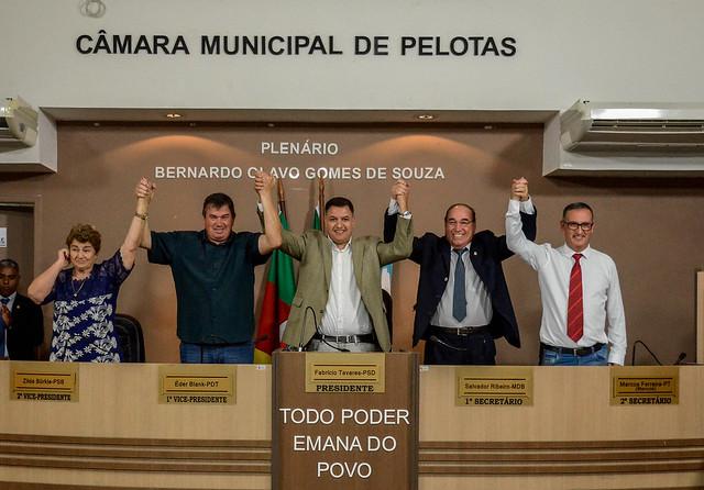 Eleição da Mesa Diretora 2019 da Câmara Municipal de Pelotas
