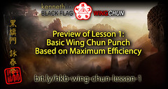 Wing Chun Punch Using Maximum Efficiency