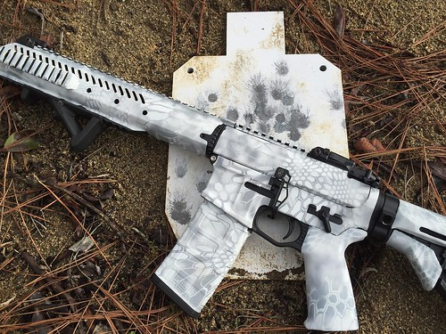 AR-15 Rifle Skin (Kryptek Yeti)