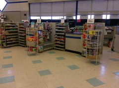 Front checkouts