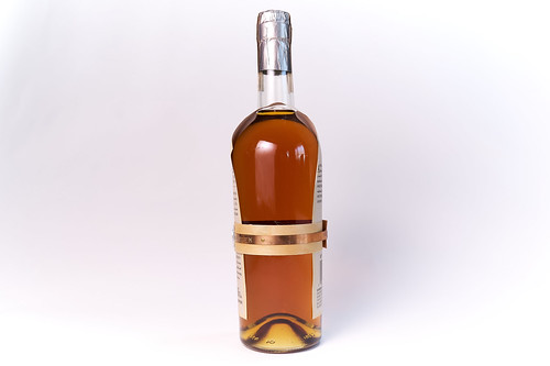 Whiskey Bottle White Backdrop