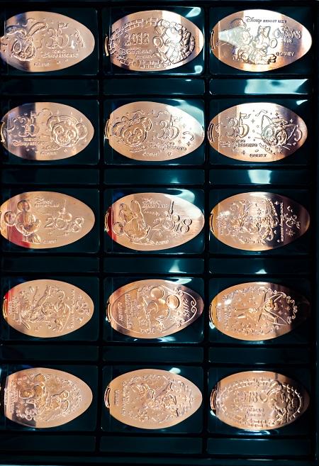 東京ディズニーリゾートスーベニアメダル