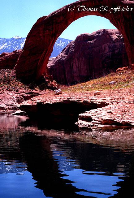Rainbow Bridge and Reflection
