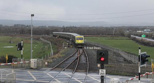 Irish Rail 4008 in Farranfore.