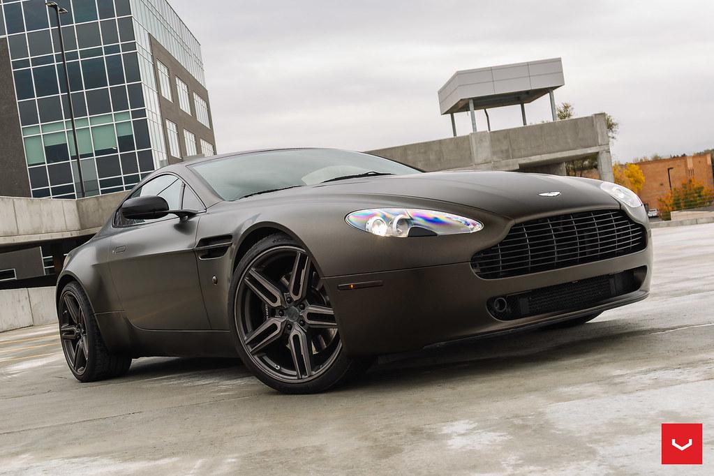 Aston Martin Vantage Hybrid Forged Hf 1 C Vossen Whe Flickr