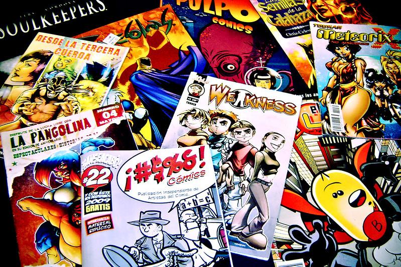 mexican comic books