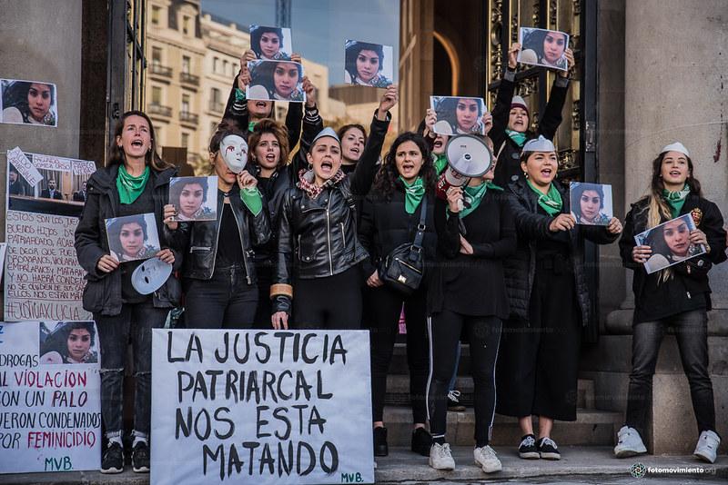 2018_11_28 Contra el femicidio de Lucía Pérez en Argentina_Joanna Chichelnitzky (1)