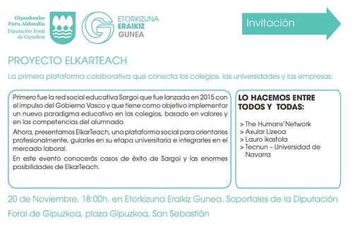 Sargoi en Elkar Tech, Etorkizuna Eraikiz, Donostia, 20-11-18