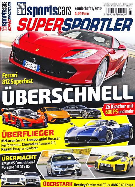 Auto Bild Sportscars - Supersportler 1/2019