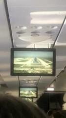 My Cabo flight had a front-facing camera feed | VIDEO