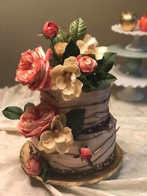 Vintage Cake by Custom Cakes Orlando, Fl