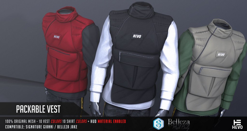 HEVO – Packable Vest @ TMD DEC. 2018
