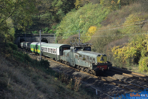 CC-14155 SNCF + spécial Copef ( Adieu CC-14100 ) Ebersviller . 19.04.96.