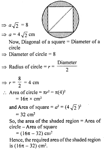 RD Sharma Class 10 Book Pdf Chapter 15 Areas related to Circles