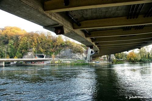 Die Rheinbrücke N4 SH