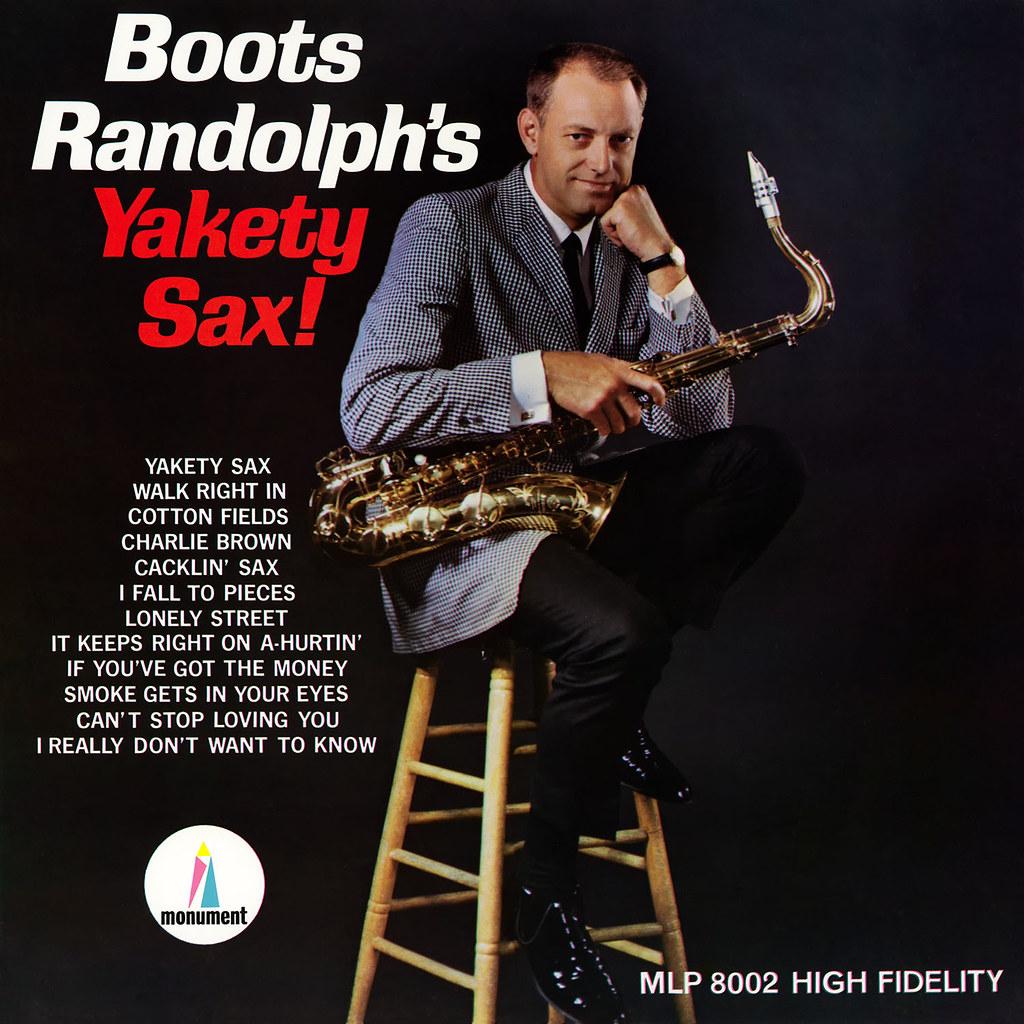 Boots Randolph - Yakety Sax!