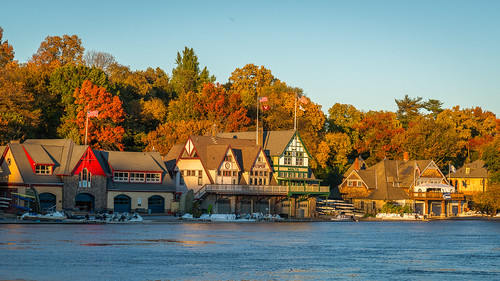 autumn houses color sunset nature water schuylkillriver city fall philadelphia leaves urban river philly sky westriverdrive foliage boathouserow landscape pennsylvania unitedstates us nikon d800e vesper malta