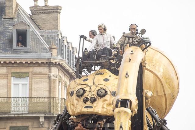 Les machines géantes