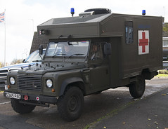 Land Rover Defender Military Ambulance S345 PAG, in Weldon, Northants
