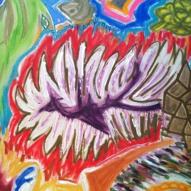 #artpromotional  #buymyart  #closeup  #artdetails  #66x66inches  #