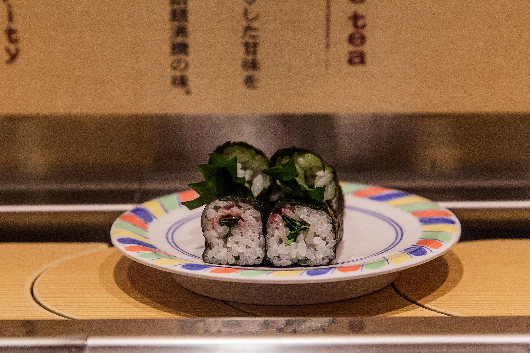Sushi no Musashi in JR Kyoto Station  寿しのむさし
