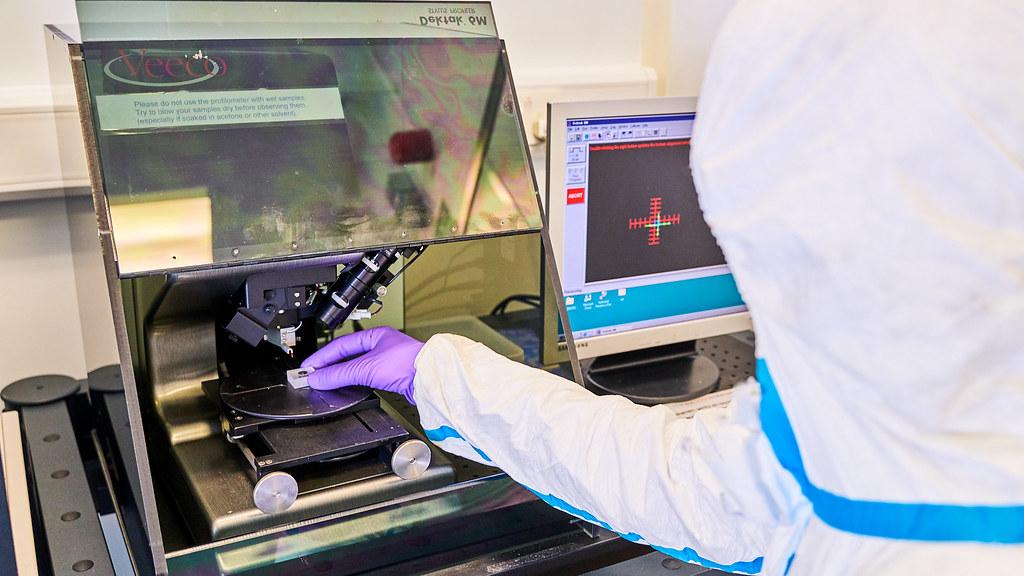 Nanofabrication facility: characterisation
