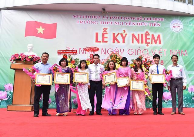 Lễ kỷ niệm 36 năm ngày Nhà giáo Việt Nam