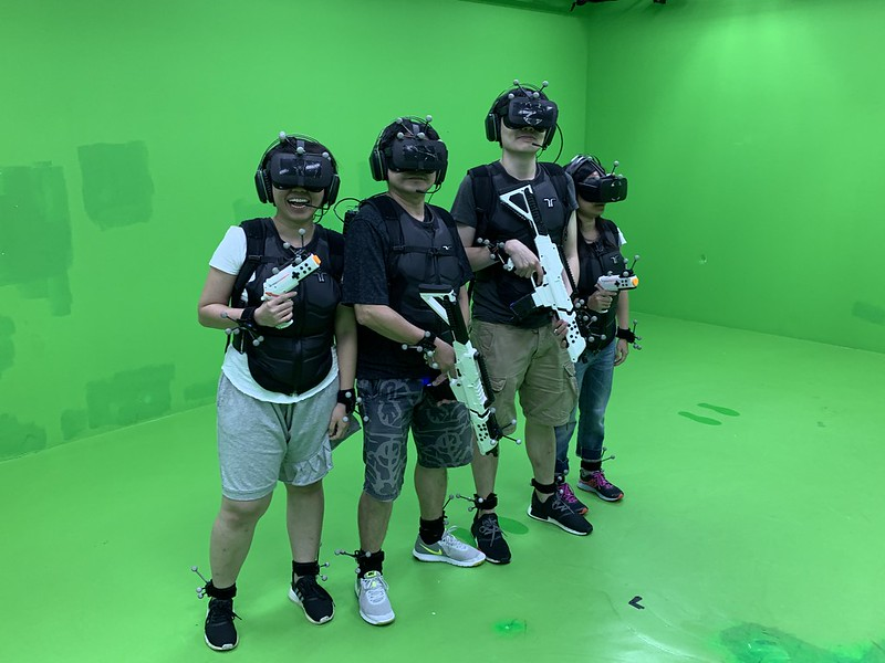 Sandbox VR (Singapore) - Photo Taking At The End