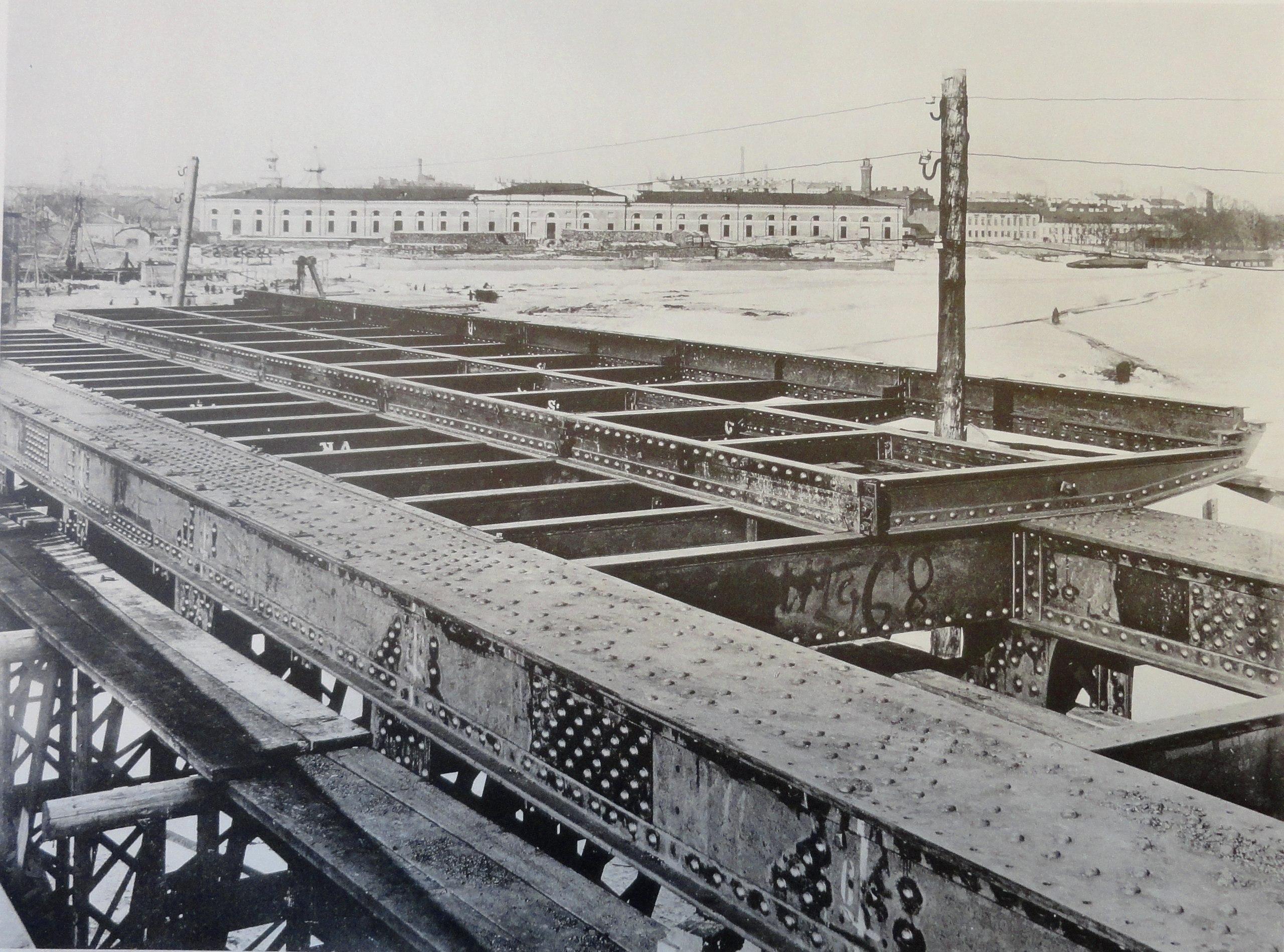 1901. Тротуарные балочки (арочный пролет). 1 марта