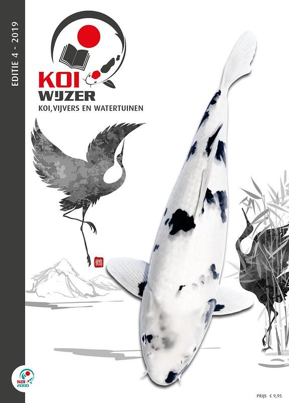Nieuwste cover van de laatste editie van de KoiWijzer. Voor de oplettende lezer; de '2019' moet inderdaad 2018 zijn ;-)