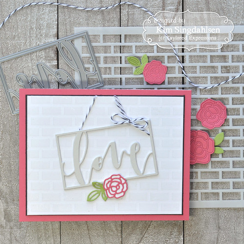 Taylored Expressions - Framed Script - Love
