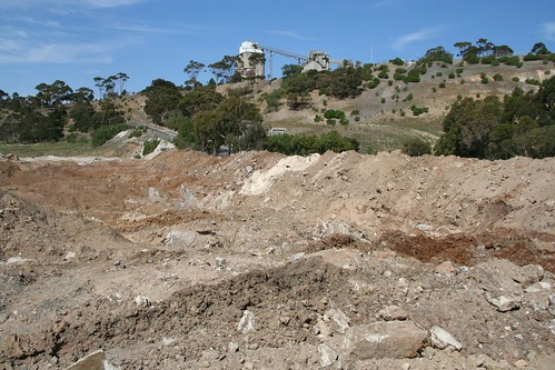 Remediating the side of the former Fyansford cement works