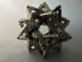Five Intersecting Tetrahedra