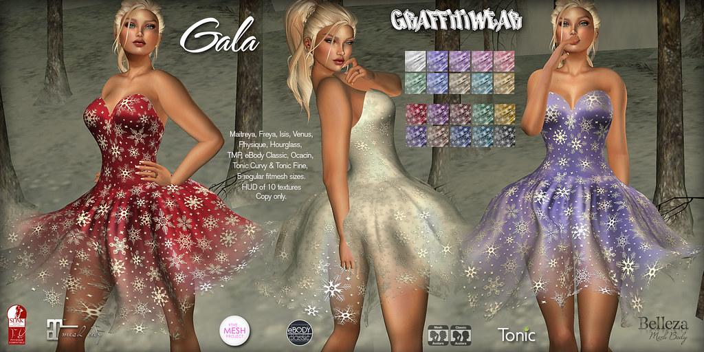 Gala Dress Ad - TeleportHub.com Live!