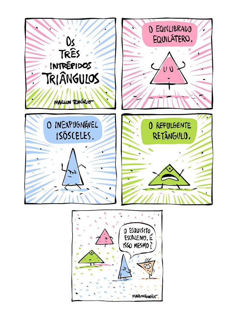 Os 3 intrépidos triângulos
