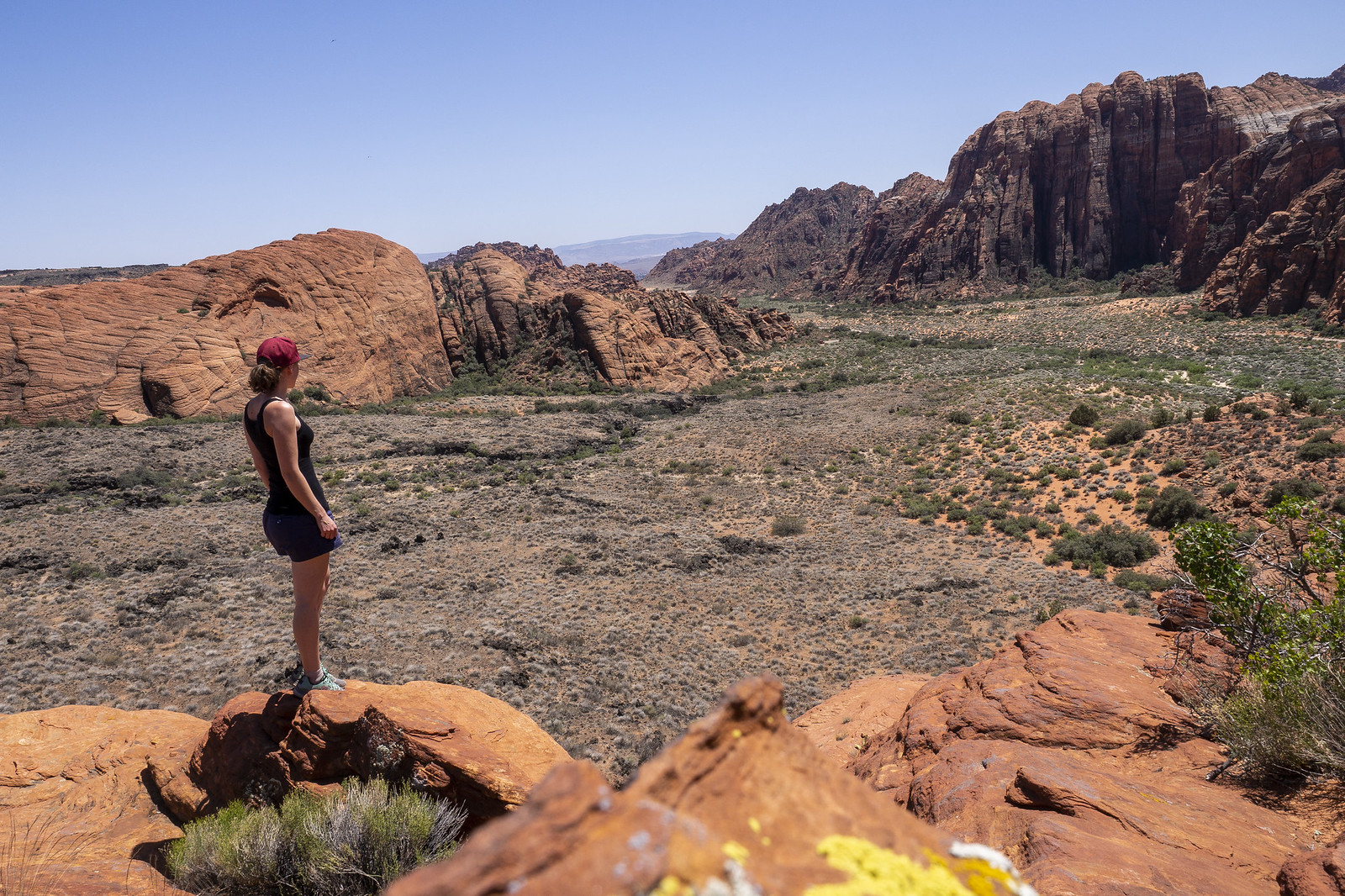 Overlooking Snow Canyon