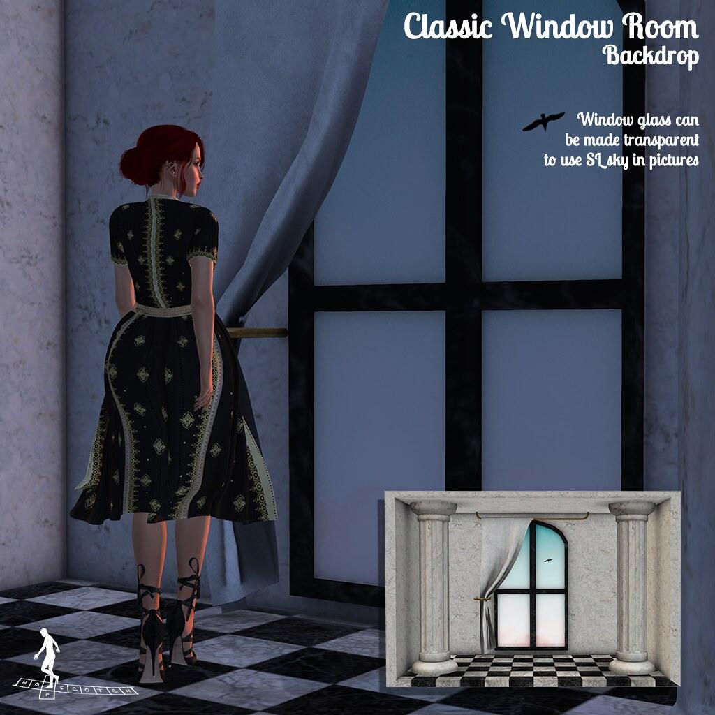 Classic Window Room