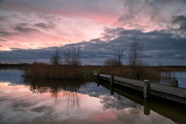Winter evening in Twiske, Nikon D850, AF-S Nikkor 24mm f/1.8G ED