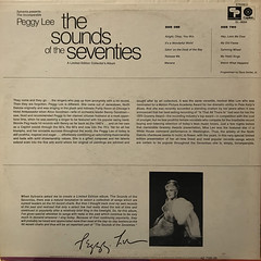 PEGGY LEE:SYLVANIA PRESENTS... THE SOUNDS OF THE SEVENTIES(JACKET B)